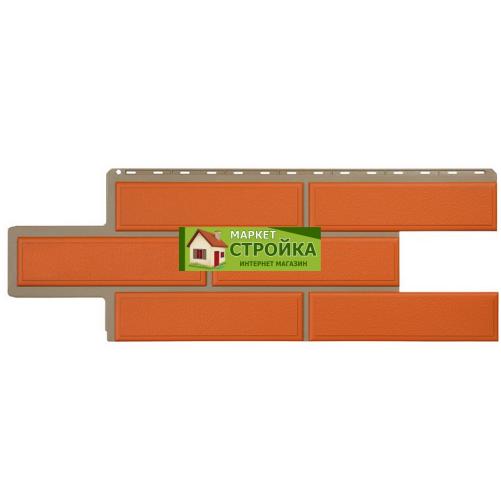 Фасадные панели Альта-Профиль Венецианский камень - Терракотовый