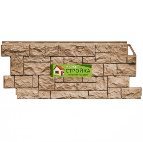 Фасадные панели FineBer Дикий камень - Терракотовый