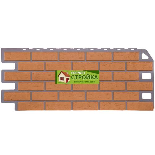 Фасадные панели FineBer Кирпич - Бежевый