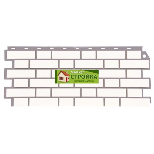 Фасадные панели FineBer Кирпич облицовочный - Белый
