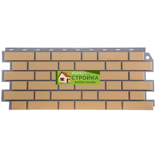 Фасадные панели FineBer Кирпич облицовочный - Жёлтый