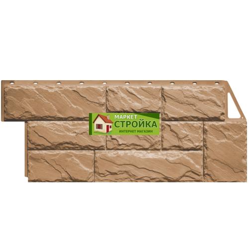Фасадные панели FineBer Крупный камень - Терракотовый