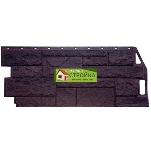 Фасадные панели FineBer Природный камень - Коричневый