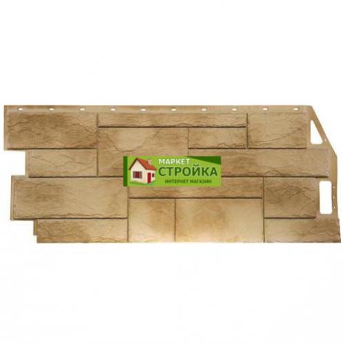 Фасадные панели FineBer Природный камень - Песочный