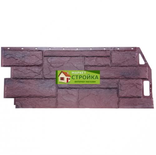 Фасадные панели FineBer Природный камень - Серо-коричневый