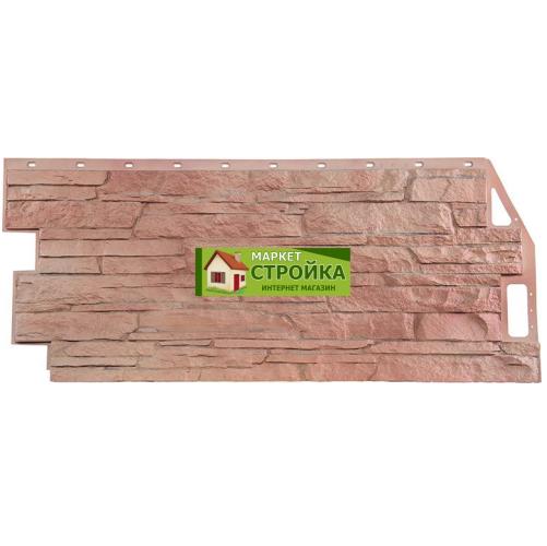 Фасадные панели FineBer Скала - Терракотовый