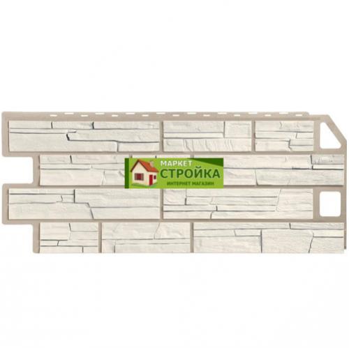 Фасадные панели FineBer Сланец - Мелованный белый