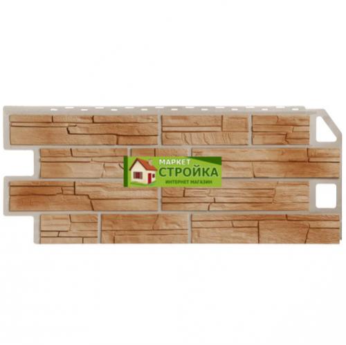 Фасадные панели FineBer Сланец - Natur Терракотовый