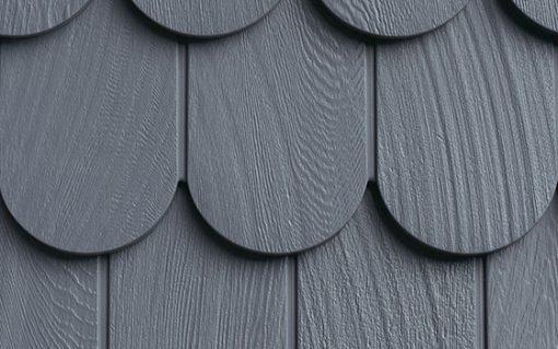 Фасадные панели Foundry Чешуя Круг - цвет Морской