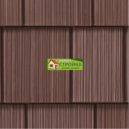 Фасадные панели Foundry Фактурная дранка - Шоколад (278)