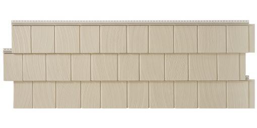 Фасадные панели Foundry Гладкая дранка - Бисквитный
