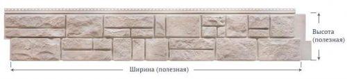 Фасадные панели Foundry Камень Известняк