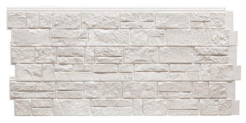 Фасадные панели Foundry Камень Известняк - Белый хлопок