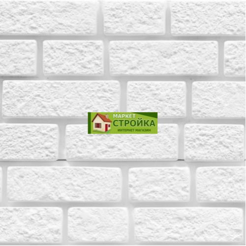 Фасадные панели Foundry Кирпич - Снежно-белый (123)