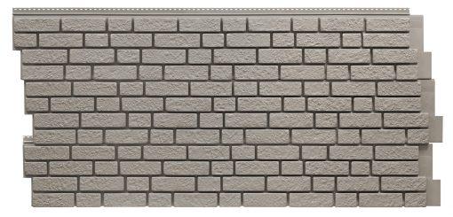 Фасадные панели Foundry Кирпич - цвет Серая глина