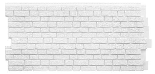 Фасадные панели Foundry Кирпич - цвет Снежно-белый