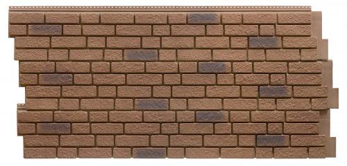Фасадные панели Foundry Кирпич - цвет Закат