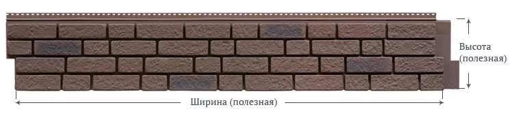 Фасадные панели Foundry Кирпич