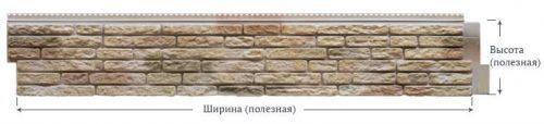 Фасадные панели Foundry Натуральный камень