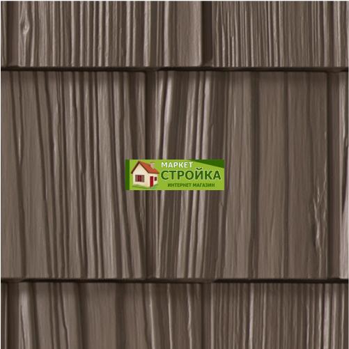Фасадные панели Foundry Щепа Ровный край - Какао (248)