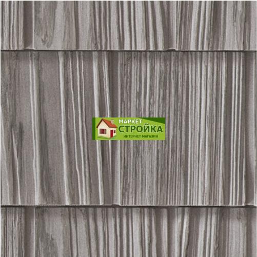Фасадные панели Foundry Щепа Ровный край - Серый камень (824)
