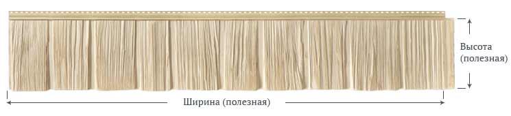 Фасадные панели Foundry Щепа Рваный край