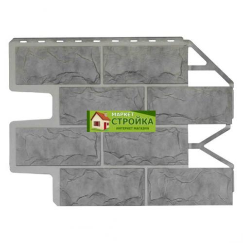Фасадные панели Wandstein Доломит - Серый жемчуг