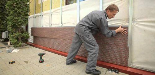 Монтаж термопанелей Стенолит
