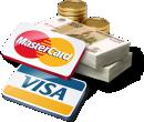 Мы принимаем Viza и MasterCard