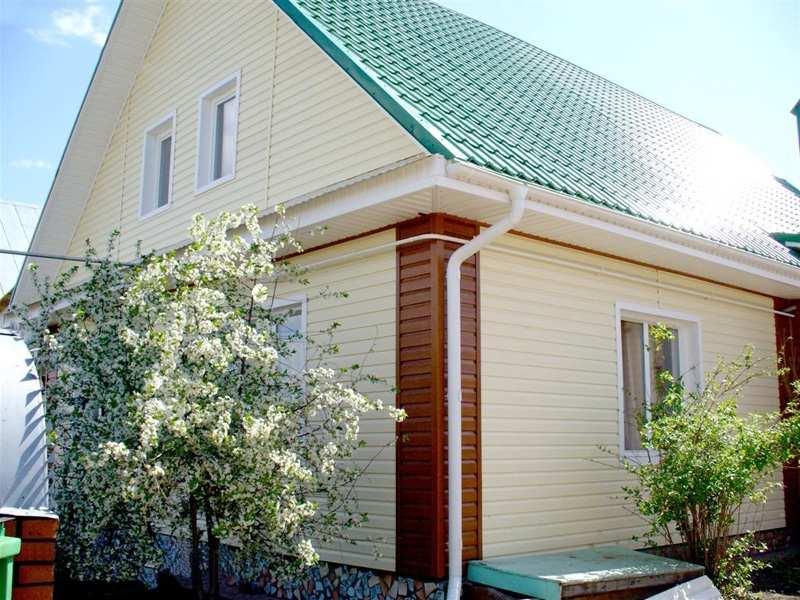 Cколько стоит обшить дом сайдингом?