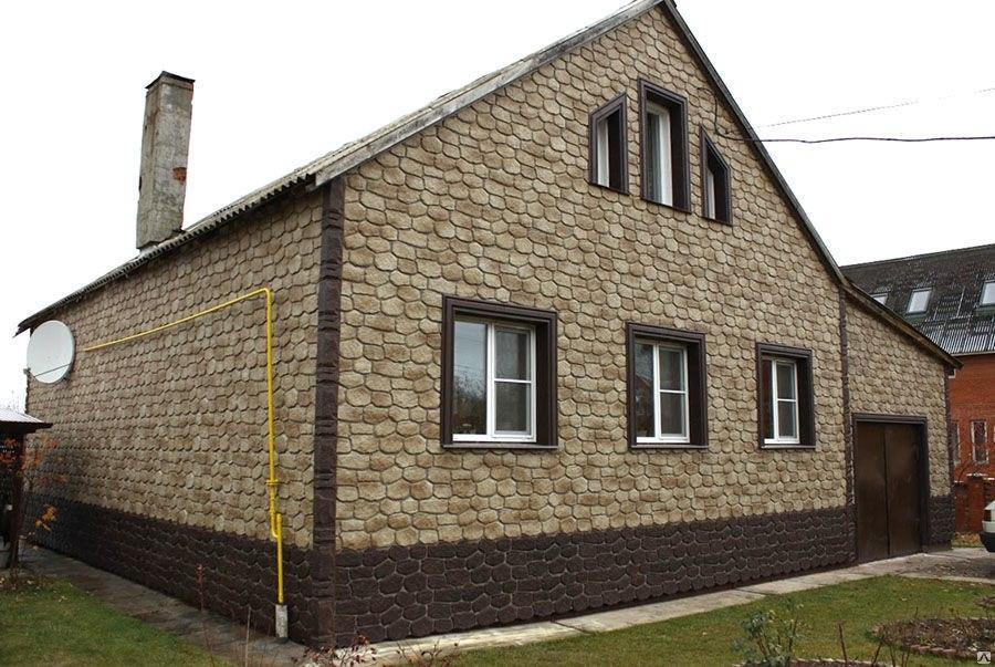 отделка домов фасадными панелями Добрый день