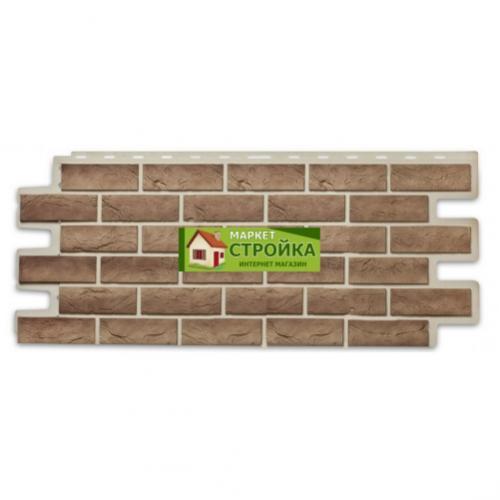 Фасадные панели ImaBeL (Tecos) Кирпич - Бронза (605)