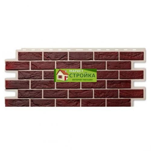 Фасадные панели ImaBeL (Tecos) Кирпич - Бургунд (602)