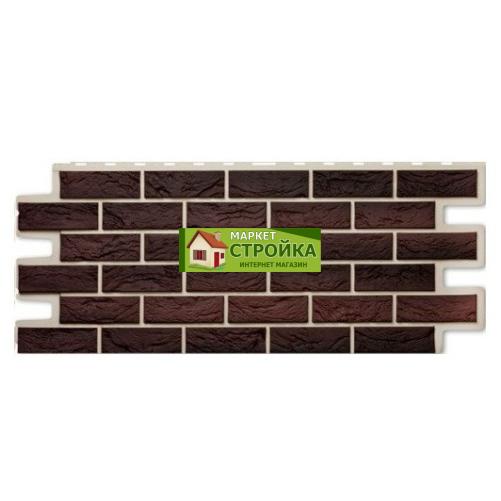 Фасадные панели ImaBeL (Tecos) Кирпич - Кофе (600)
