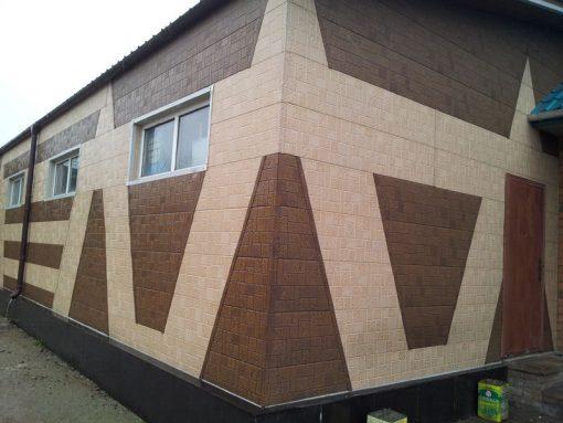 Фасадные панели ZODIAC Мозаика