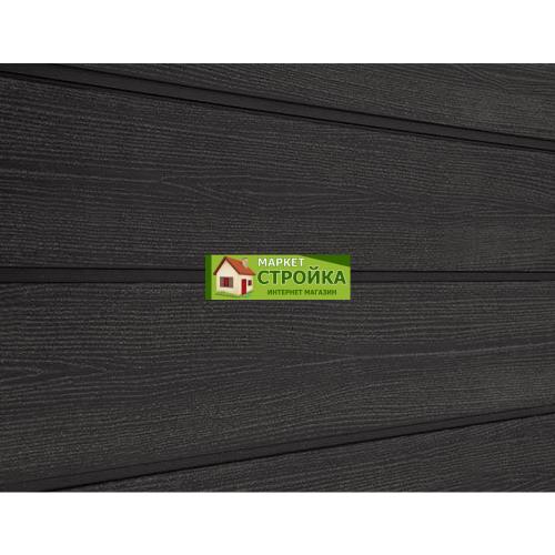 Сайдинг Savewood Cedrus - Черный радиальный