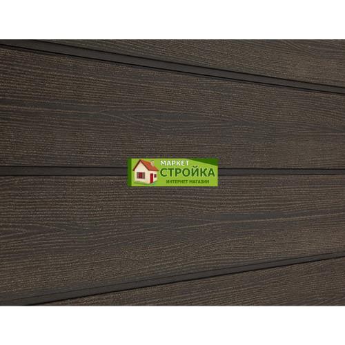 Сайдинг Savewood Cedrus - Темно-коричневый радиальный
