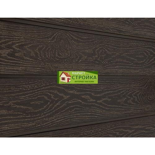 Сайдинг Savewood Cedrus - Темно-коричневый тангенциальный
