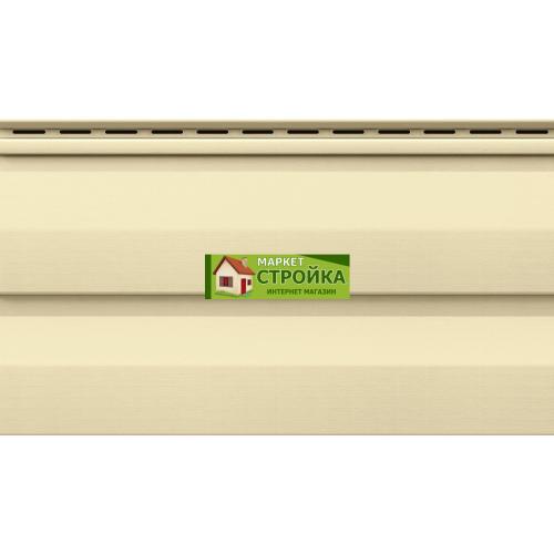 Сайдинг VOX Standart (Unicolor) — Кремовый