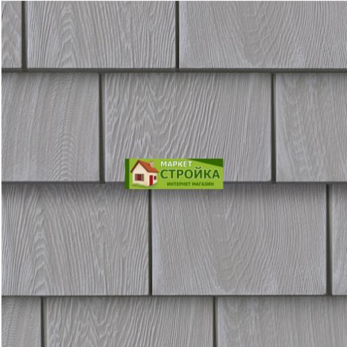 Фасадные панели Foundry Кедр 5 - Перламутровый серый (401)