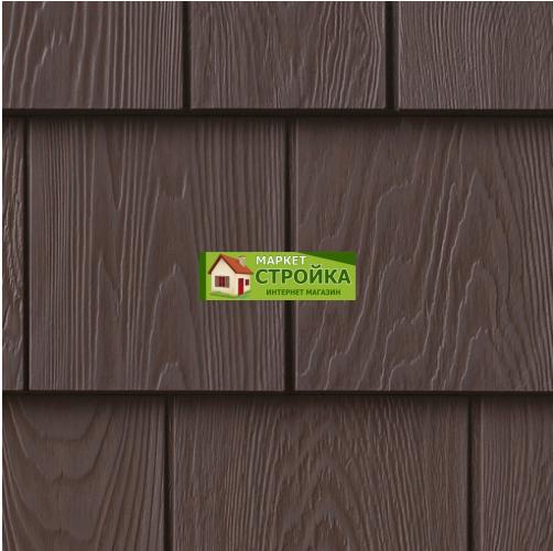 Фасадные панели Foundry Кедр 7,5 - Винтажный коричневый (454)