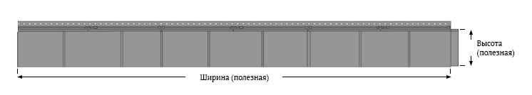 Фасадные панели Foundry Кедр