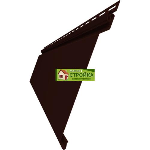 Сайдинг Grand Line Natural-Брус - Темный дуб