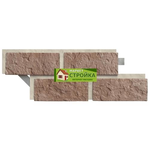 Фасадная плитка Каньон Рижский кирпич