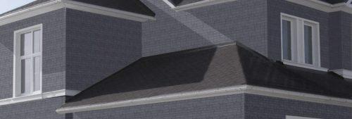 Фасадные панели Canada Ridge Серый